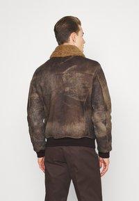 Schott - LCDAKOTA - Leather jacket - brown - 2
