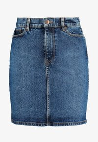 PAMELA SKIRT - Denim skirt - blue