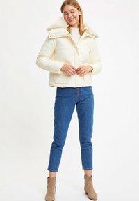 DeFacto - Winter jacket - ecru - 1
