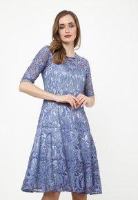 Madam-T - Cocktail dress / Party dress - indigo - 0