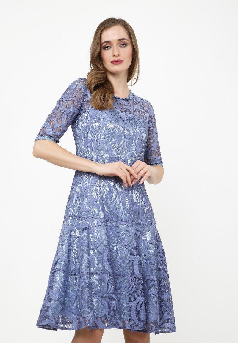 Madam-T - Cocktail dress / Party dress - indigo