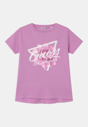 JUNIOR  - T-shirt con stampa - crystal mauve