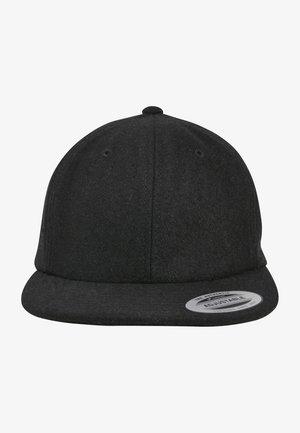 SNAPBACK MELTON - Cap - black