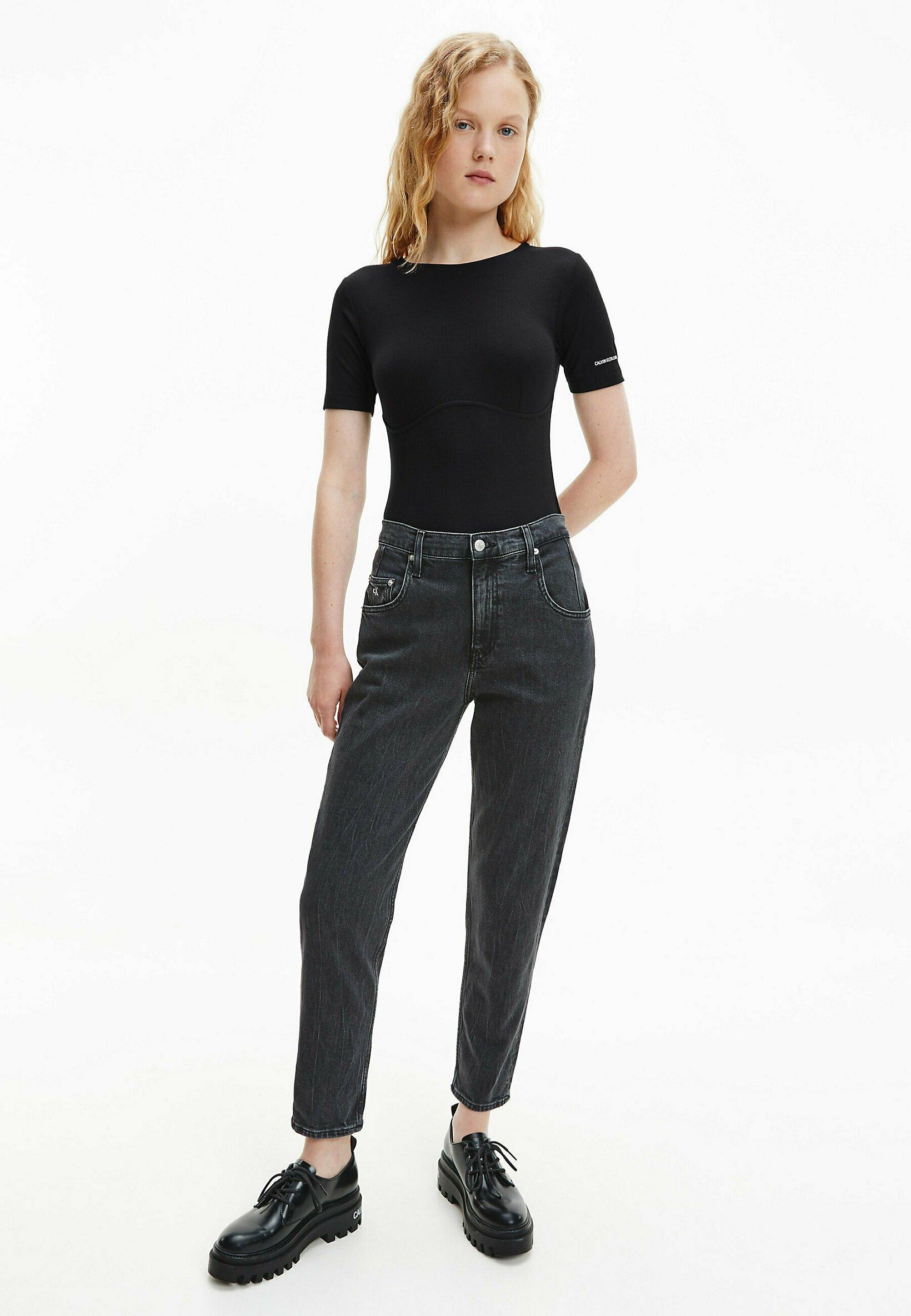 Donna RIBBED CORSET - T-shirt basic