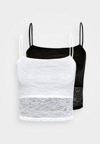 Even&Odd - 2 PACK - Top - white/black - 4