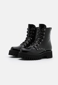 Casadei - Cowboy/biker ankle boot - brushed nero - 2