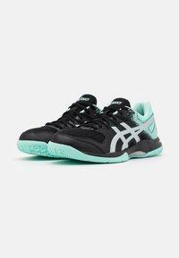 ASICS - GEL ROCKET 9 - Volleyball shoes - black/fresh ice - 1