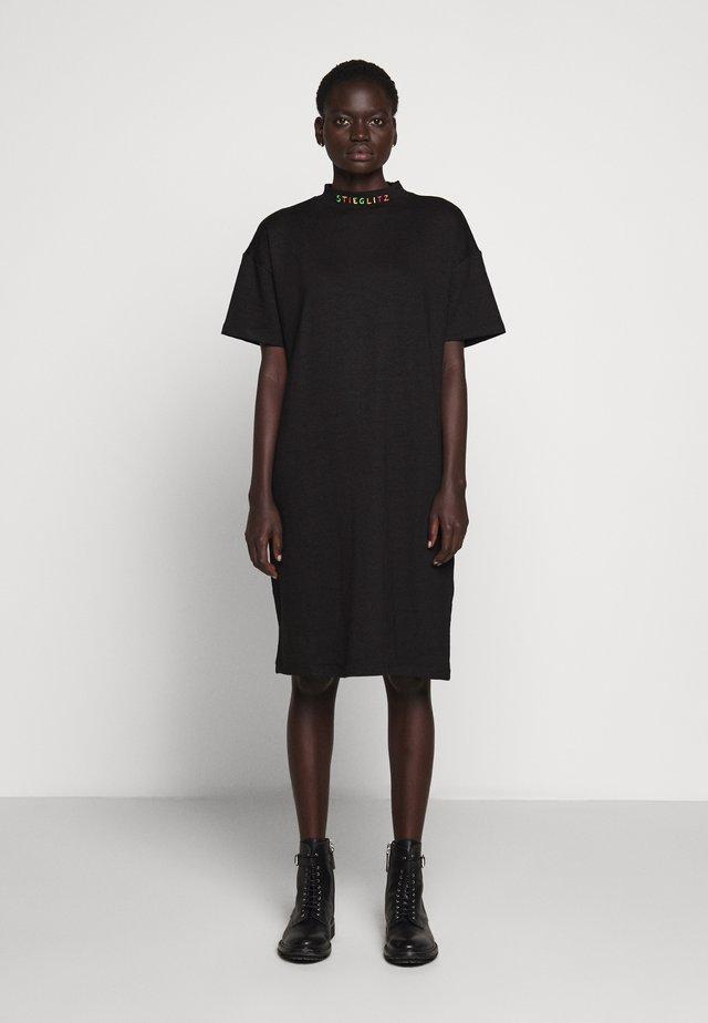 ALBA DRESS - Vestido ligero - black