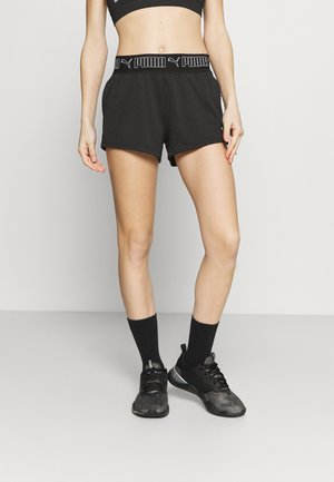 TRAIN ELASTIC SHORT - Sports shorts - black