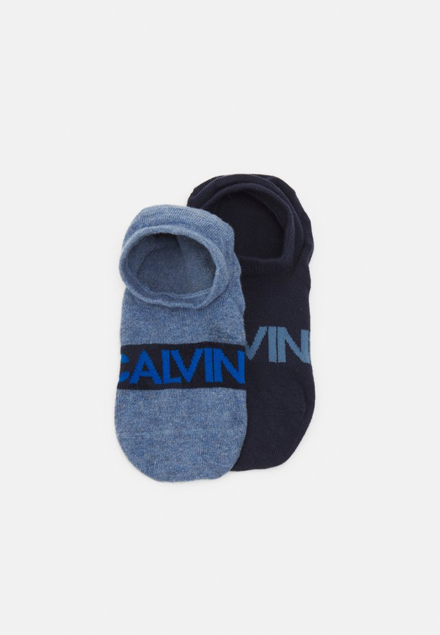 LINER DEVIN 2 PACK - Trainer socks - jeans