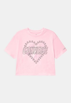 HEART WORDMARK  - Camiseta estampada - pink foam