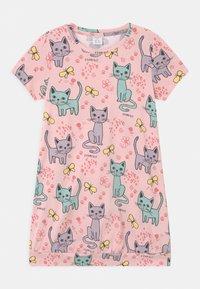 Lindex - LONG CAT  - Print T-shirt - light dusty pink - 0