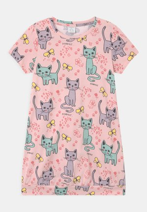 LONG CAT  - Print T-shirt - light dusty pink