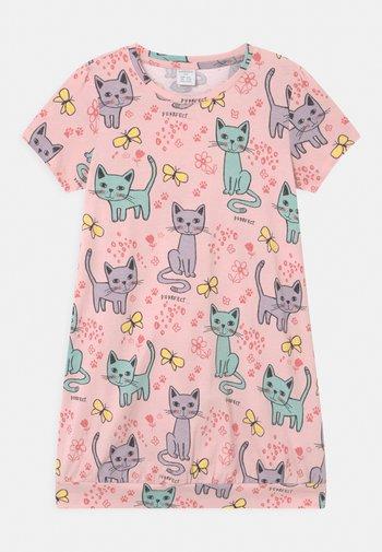 LONG CAT  - T-shirt print - light dusty pink