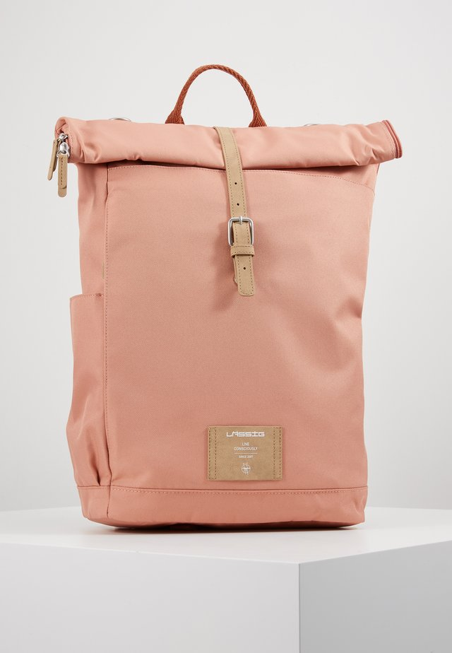 ROLLTOP BACKPACK - Rucksack - cinnamon
