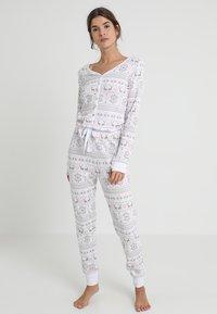 Even&Odd - Pyjamas - white/pink - 1