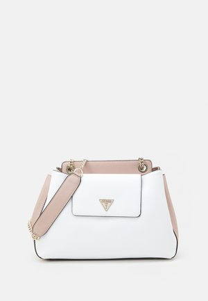 SANDRINE SHOULDER SATCHEL - Across body bag - white/multi