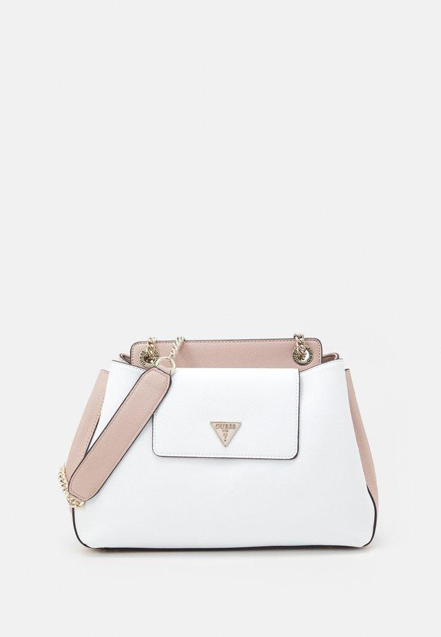 SANDRINE SHOULDER SATCHEL - Across body bag - white/multi