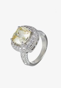 ALDO - LOBELIA - Ring - light yellow/clear - 1
