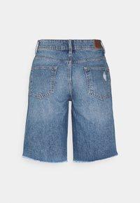 Pepe Jeans - VIOLET BERMUDA - Shorts di jeans - blue denim - 1