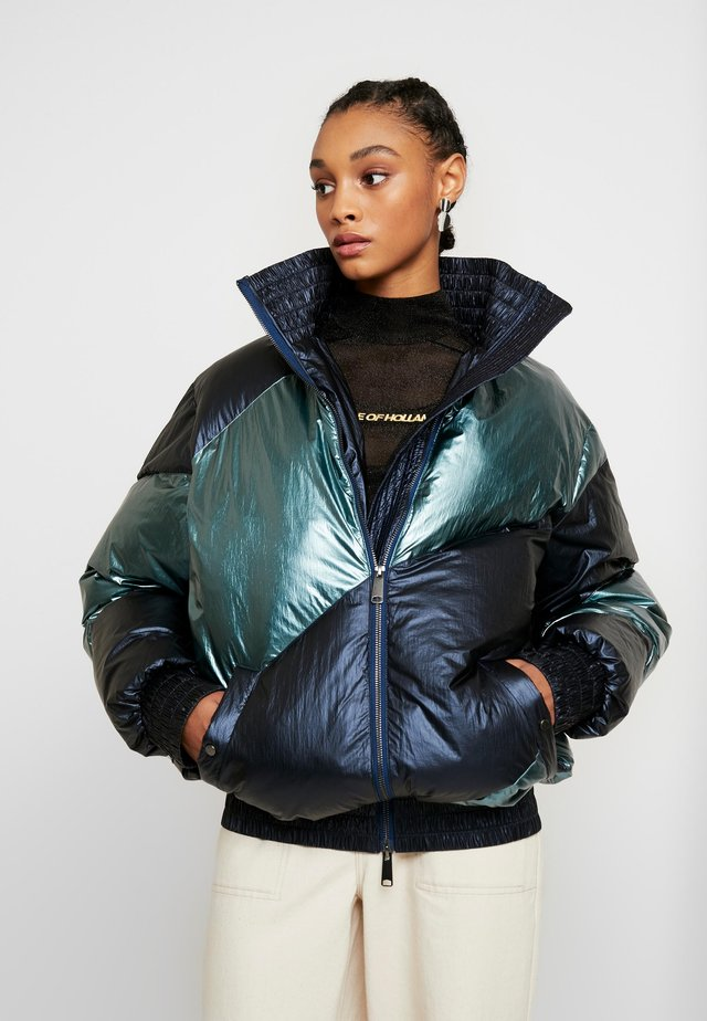 MUTED OVERSIZED PUFFER COAT - Vinterkåpe / -frakk - blue/navy