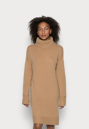 KNEE DRESS  - Jumper dress - countryside khaki
