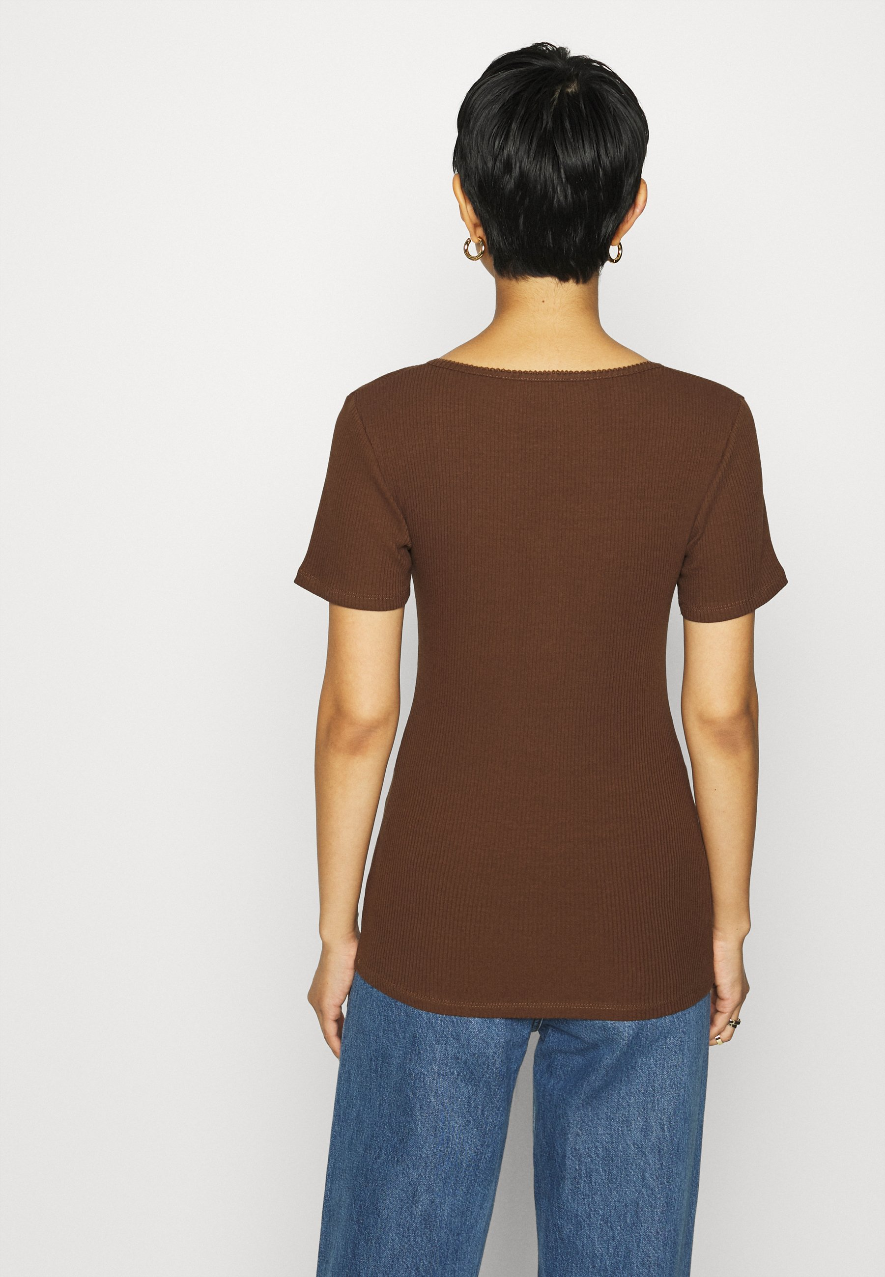 Modström Orson - T-shirts Pecan/lysebrun