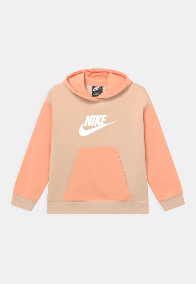 HOODIE - Sweatshirt - shimmer/apricot agate/white