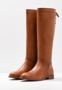 mint&berry - Boots - cognac - 4