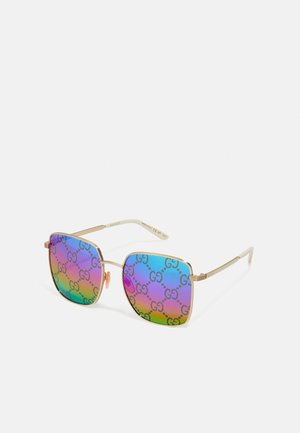 Sunglasses - gold-coloured/multicolor