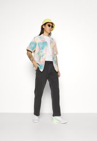 Obey Clothing - HARD WORK CARPENTER - Straight leg -farkut - dusty black - 4