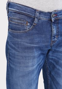 Mustang - OREGON  - Straight leg jeans - light scratched used - 3
