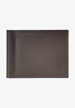 Wallet - dunkelbraun (genarbt)