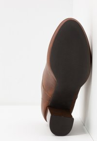 Anna Field - High heeled ankle boots - cognac - 6