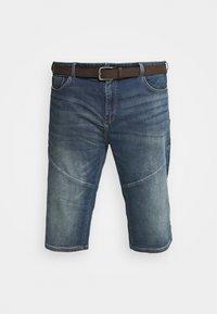 s.Oliver - BERMUDA - Denim shorts - blue denim - 4
