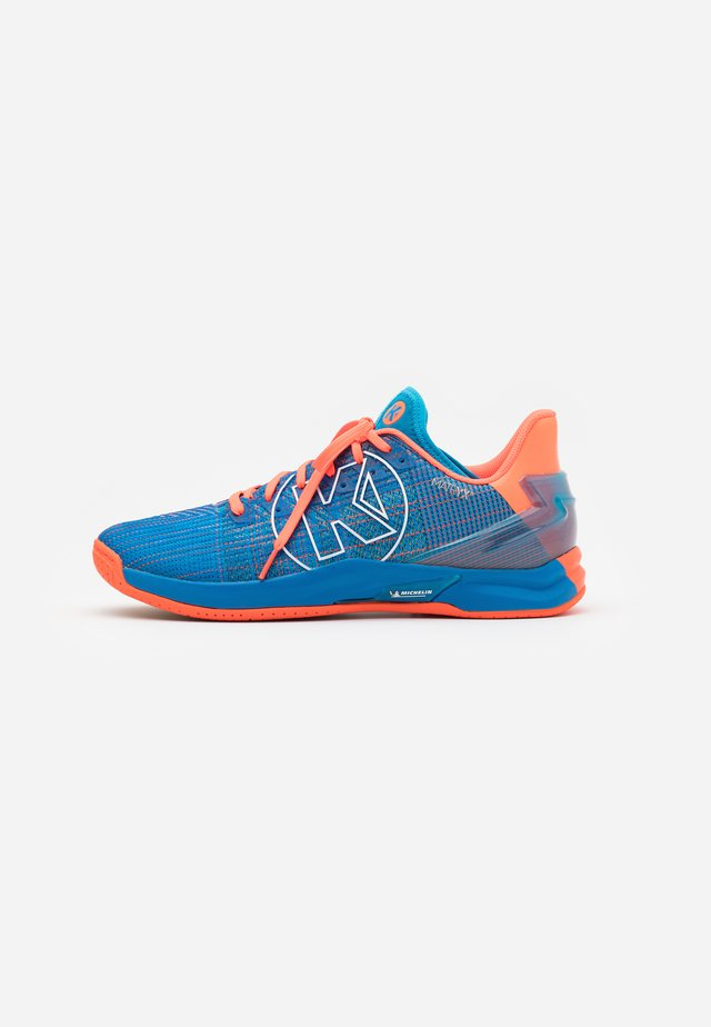 ATTACK ONE 2.0 - Handbalschoenen - blue/flou red
