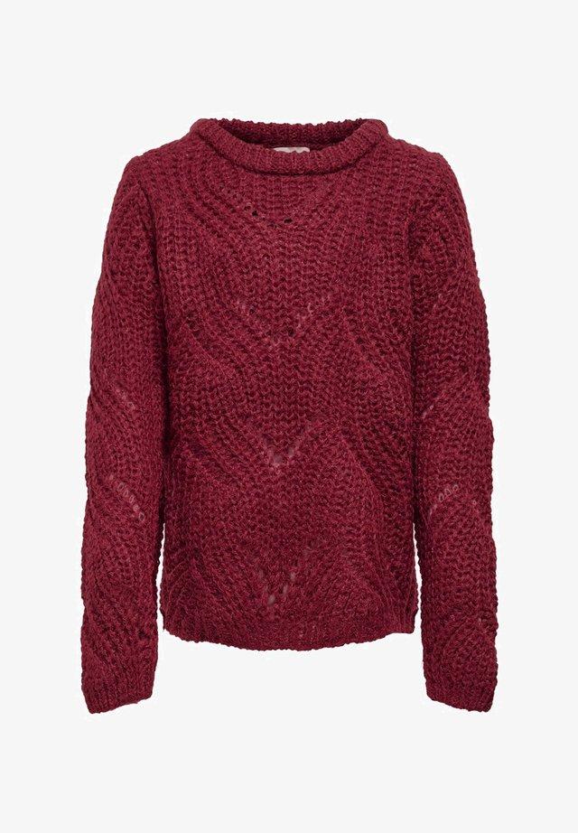 STRUKTUR - Pullover - rhubarb