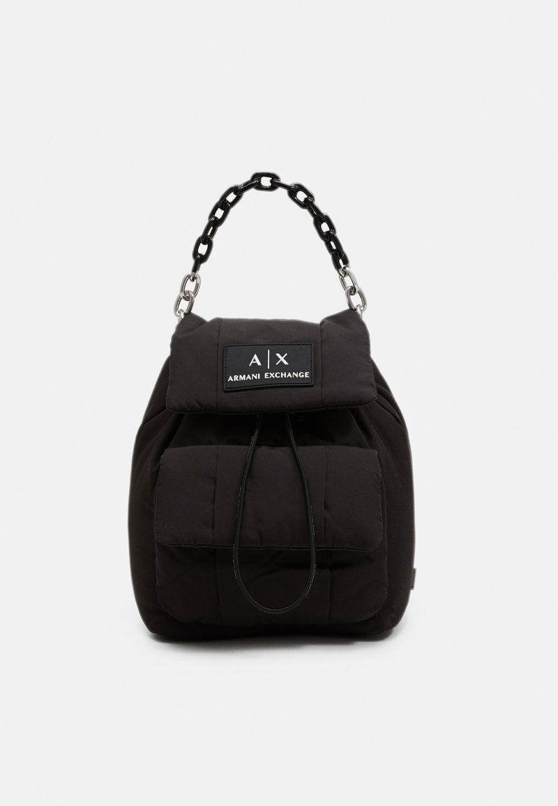 Armani Exchange - SMALL BACKPACK - Rucksack - nero