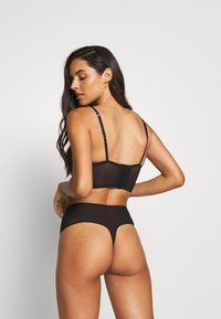 LASCANA - HIGH WAIST - String - black - 2