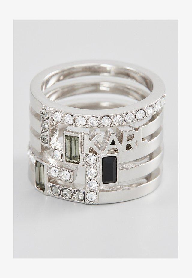Prsten - rhodium