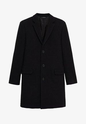 Classic coat - zwart