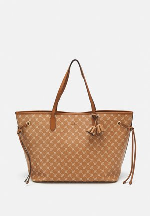 CORTINA LARA SHOPPER SET - Across body bag - cognac