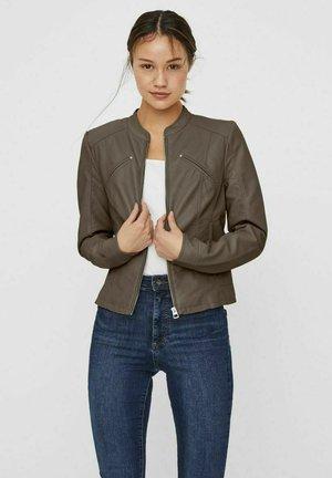 VMFAVODONA - Faux leather jacket - bungee cord