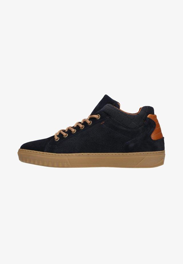 MIT HOHEM SCHAFT - Sneakers laag - blue