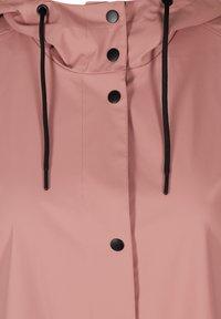 Zizzi - Waterproof jacket - rose - 4