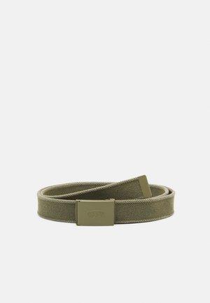 OVAL WEB BELT UNISEX - Belte - dark green
