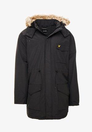 PLUS WINTERWEIGHT  - Winter coat - true black