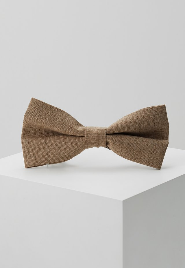 OSTA BOW - Bow tie - brown