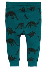 Next - TEAL DINO - Tracksuit bottoms - green - 1