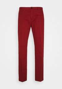 Tommy Hilfiger Tailored - FLEX SLIM FIT PANT - Trousers - red - 3
